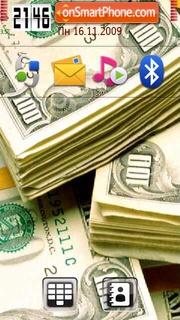Moneys Red theme screenshot