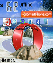 Opera theme screenshot