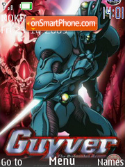 Guyver theme screenshot