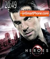 Sylar theme screenshot