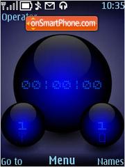 Скриншот темы DigiSphere (Blue)