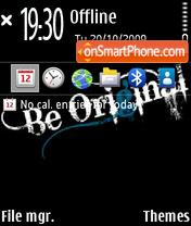 Be original 02 theme screenshot