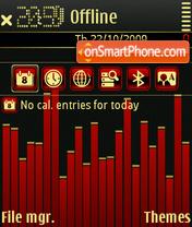 Capture d'écran Equalizer 05 thème