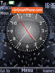 Clock analog animated Theme-Screenshot