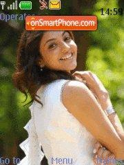 Kajal in Arya 2 theme screenshot