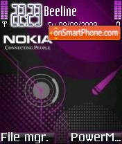 Nokia 5803 theme screenshot