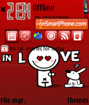 In Love 05 theme screenshot