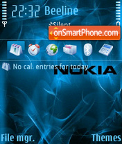 Nokiaabstr theme screenshot