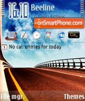 Dreamy World 7 theme screenshot