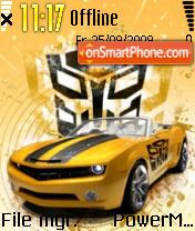 Transformers 04 theme screenshot