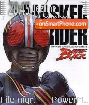 Masked Rider theme screenshot
