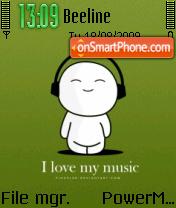 Music 5310 es el tema de pantalla
