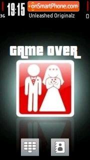Game Over 01 es el tema de pantalla