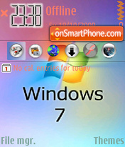 Windows 08 theme screenshot