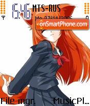Firefox Lady 2 es el tema de pantalla