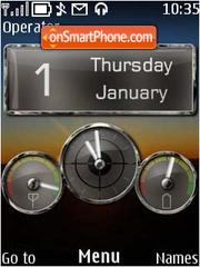 Car Dash theme screenshot
