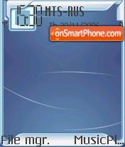 Indigo Tech Full Pack OS8 theme screenshot