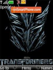 Transformers 2 04 theme screenshot