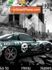Nfs Pro Street 07 theme screenshot