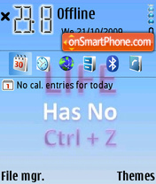 Life 07 theme screenshot