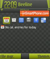 Square FP1 01 theme screenshot
