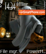 Halloween Costumes tema screenshot