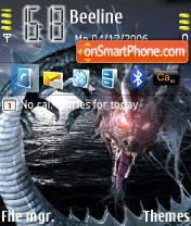 Скриншот темы Dragon 01