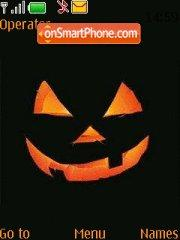 Pumpkin Face tema screenshot
