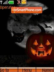 Halloween Night 01 tema screenshot
