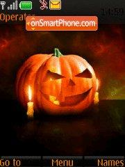 Halloween Pumpkin 01 theme screenshot