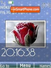 Frozen roses theme screenshot