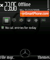 Mercedes Benz 05 theme screenshot