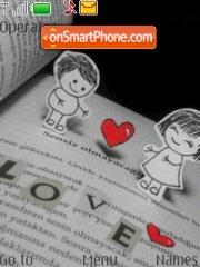 Love tema screenshot