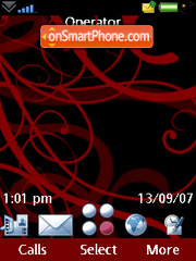 Redlight tema screenshot