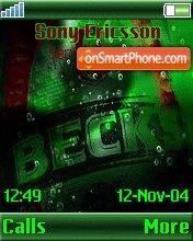Becks es el tema de pantalla