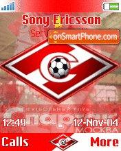 Fc Spartak Moscow theme screenshot