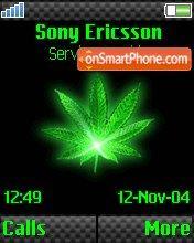 Green Weed v2 theme screenshot
