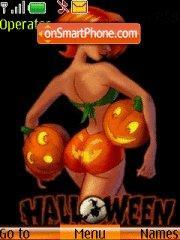 Скриншот темы Halloween 2009