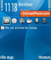 Aquarius 08 theme screenshot