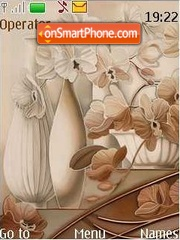 Orchid tema screenshot