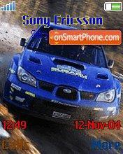 Rally Cars es el tema de pantalla