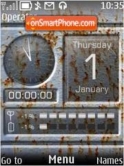 Rusty theme screenshot