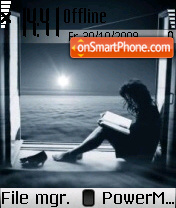 Alone Boy 01 theme screenshot