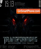 Transformer 2 theme screenshot