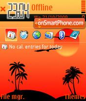Скриншот темы Miami 01
