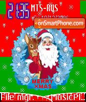 Merry Xmas theme screenshot