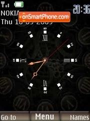 Clockwork theme screenshot