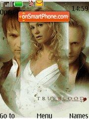 True Blood theme screenshot