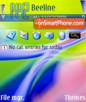 Abstract Color 6 theme screenshot