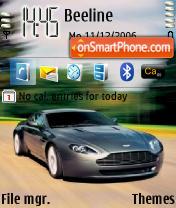Скриншот темы Aston Martin 01